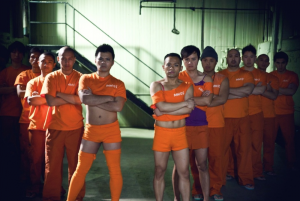 Inmates from Prison Dancer