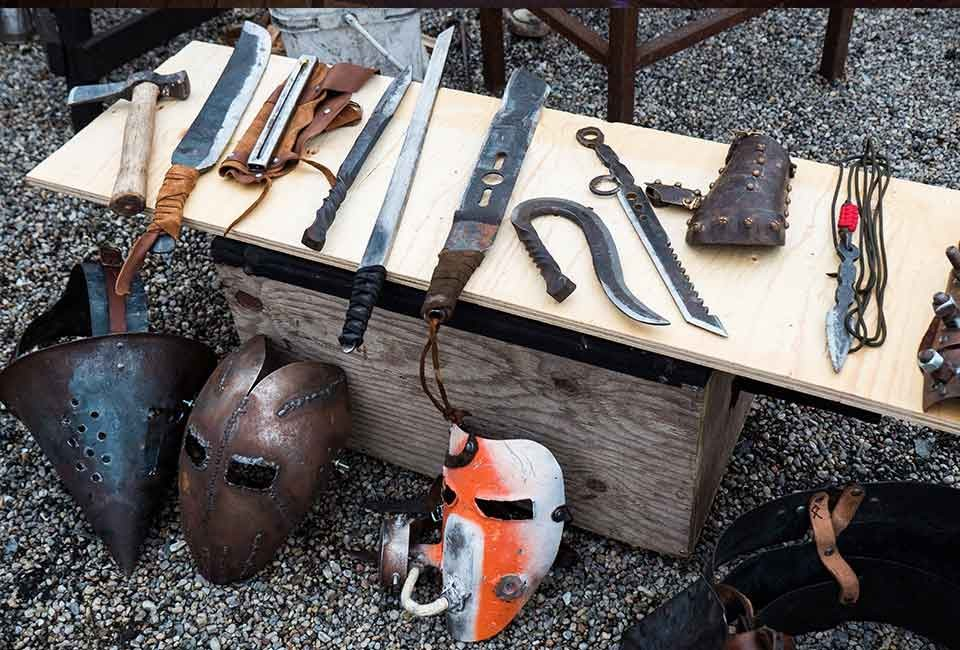 Forged weapons